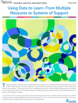 Using Data to Learn From Multiple Measures to Systems of Support