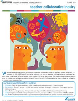 Teacher Collaborative Inquiry Brief