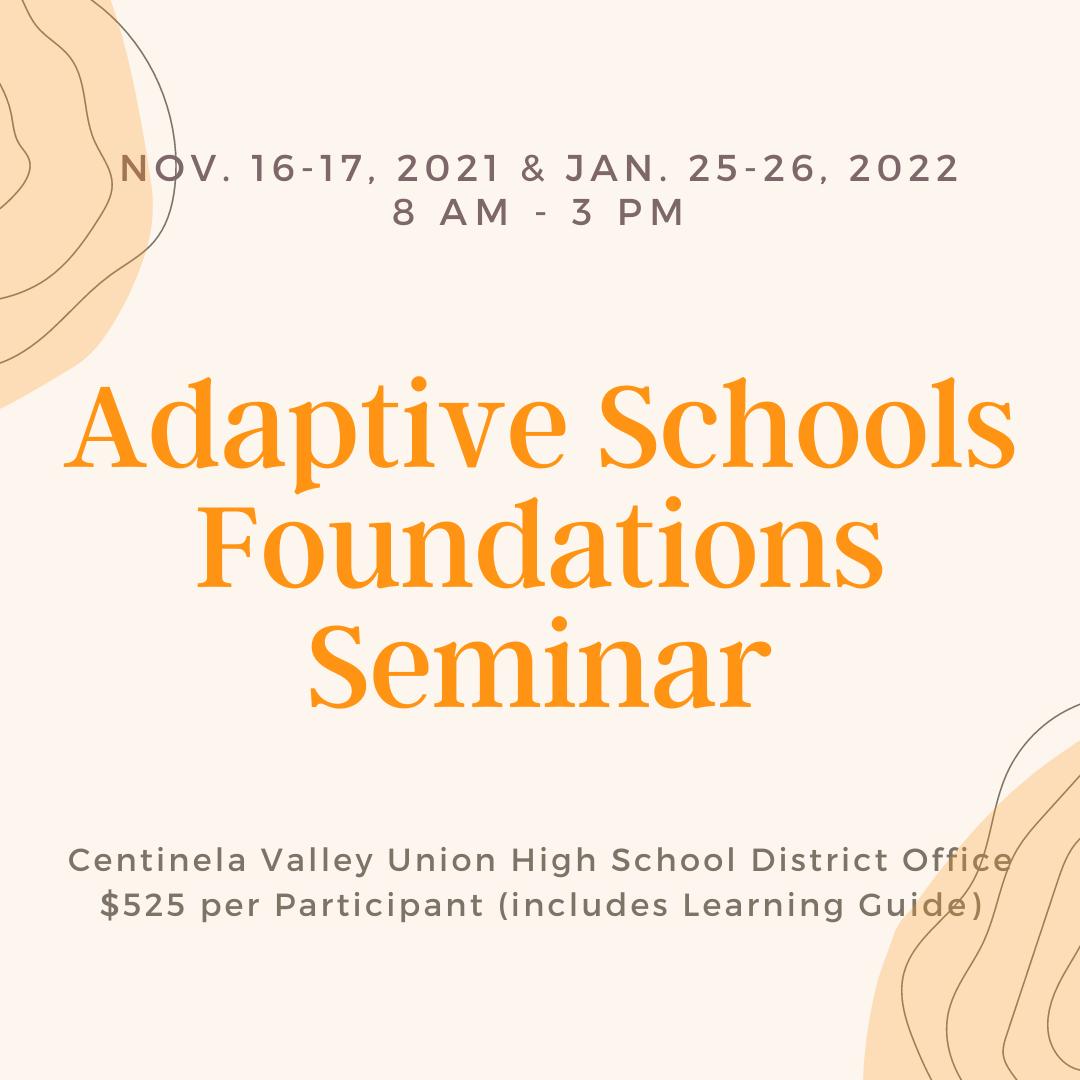 Adaptive Schools Foundations Training