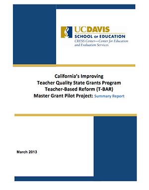 TBar Summary Report March 2013