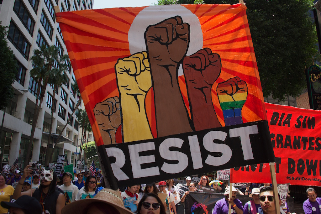 Marching for Justice:  May Day, 2017