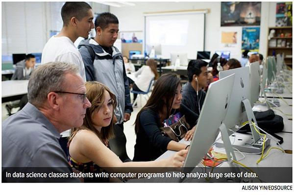 'Big data' classes a big hit in California high schools