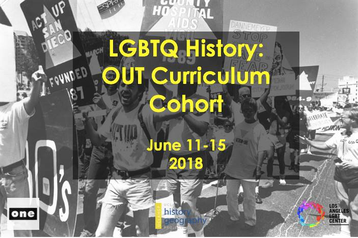 LGBTQ History: OUT Curriculum Cohort