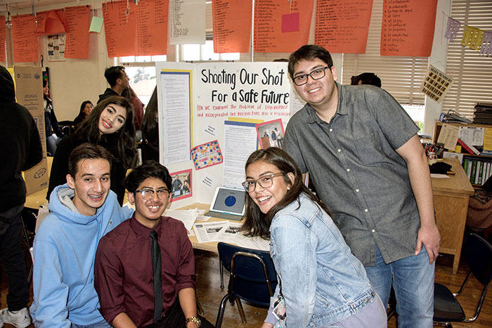 From Fear to Hope:  Mr. Sanchez' Period 3 U.S. Government Class at Alhambra High School