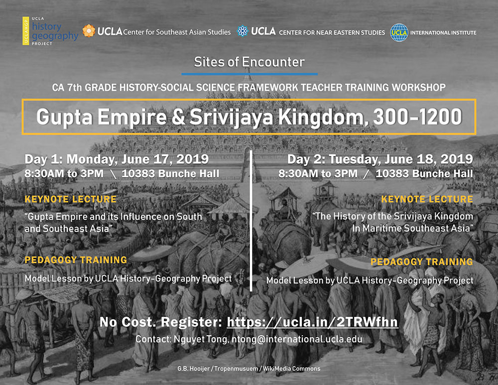 Gupta Empire & Srivijava Kingdom workshop