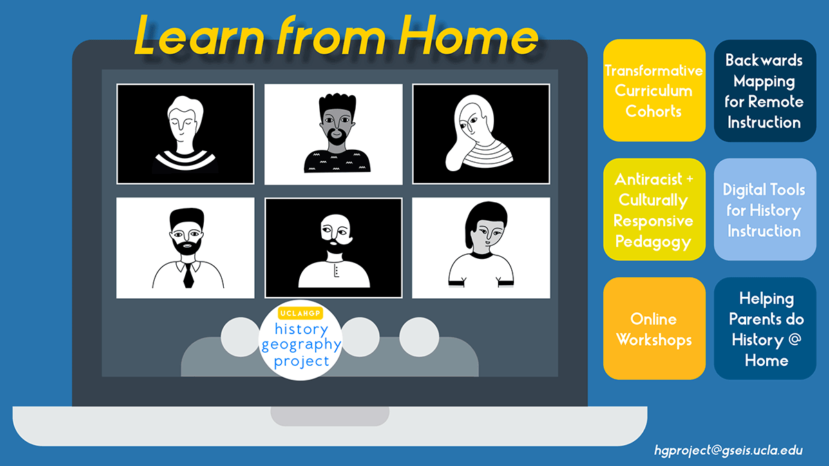Learn from Home UCLA History-Geography Project