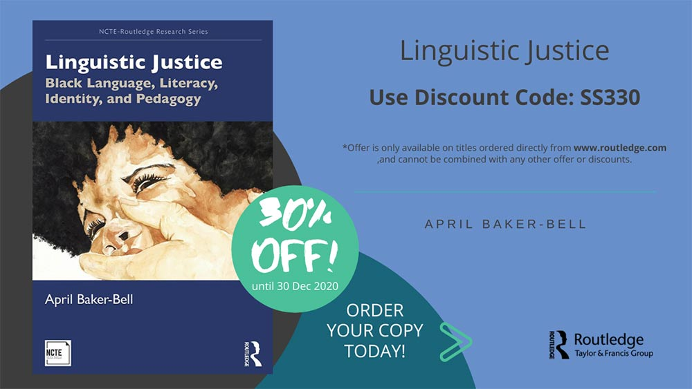 30% off book Linguistic Justice